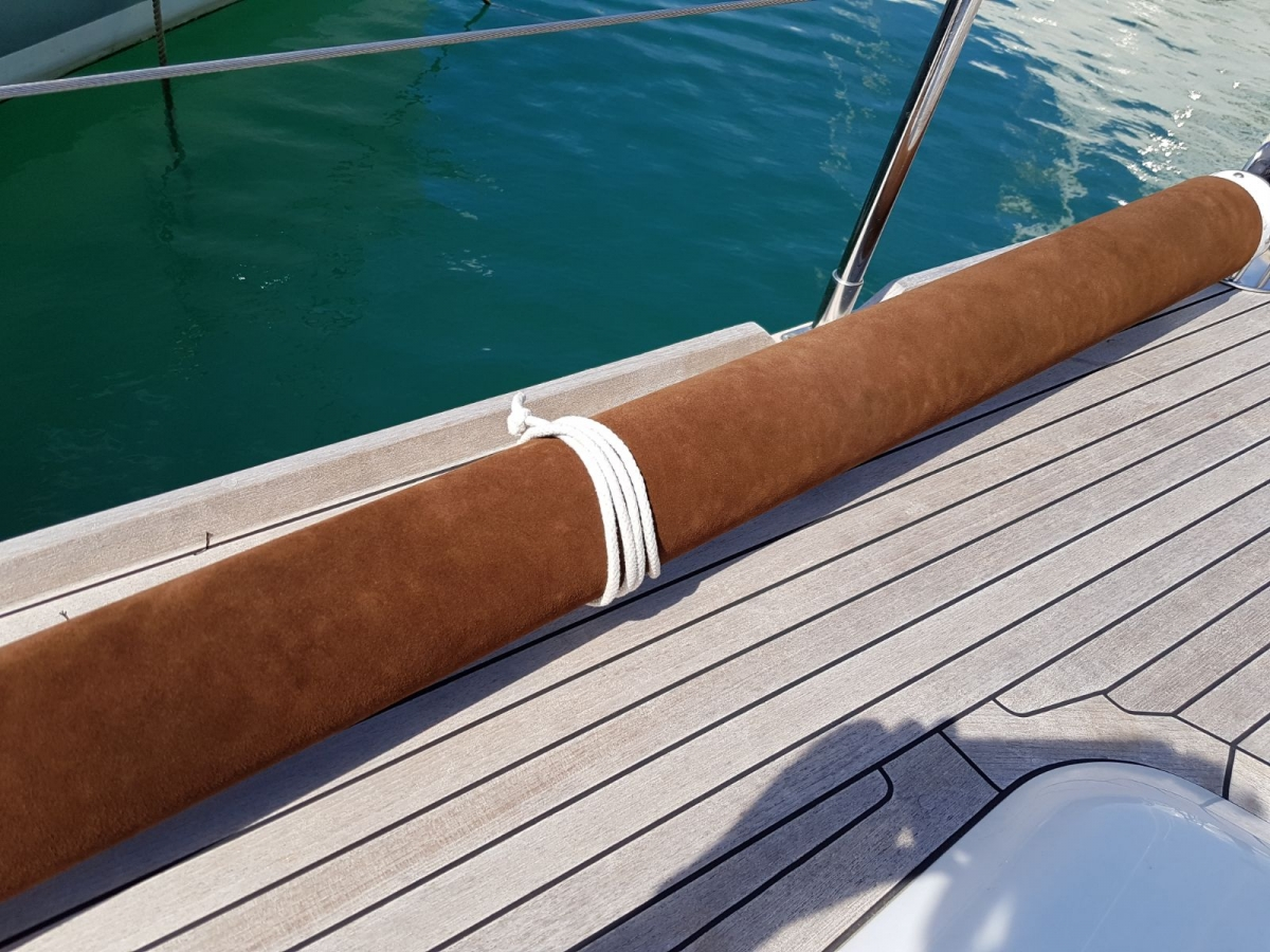 Leather Spinnaker Pole